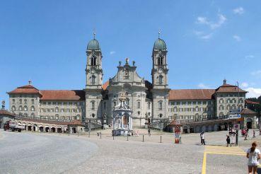 Le couvent d`Einsiedeln
