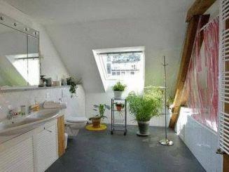 Номер-студио с отдельной внешней ванной комнатой