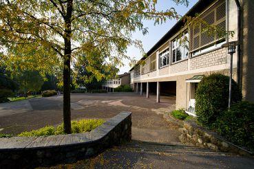 Casa de la escuela de las Montañas Rocosas