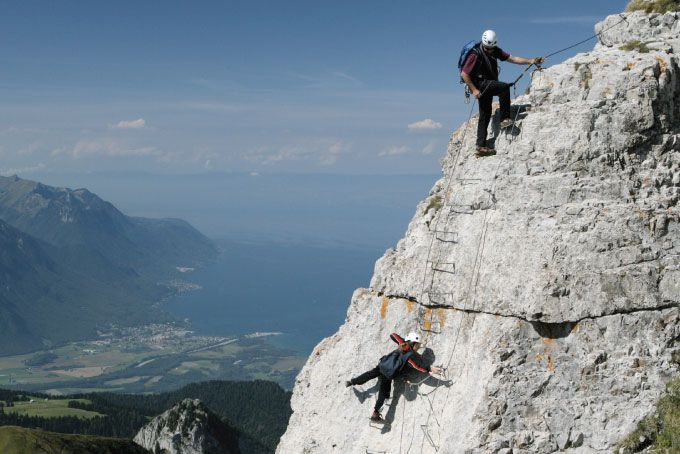 Klettersteig Map : Skitourismus moléson klettersteig u fotos beschreibung