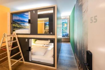 Capsule Hotel by Hyve Basel City